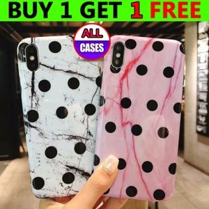 Accessories - NEW iPhone X/XS/6/6S/7/8/Plus Marble Dot Case